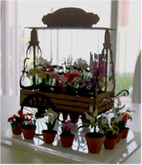 Flower Cart - $28.00 US,  Fruit & Vegtable Cart - $26.00 US,  Peddlers Cart - $24.00 US